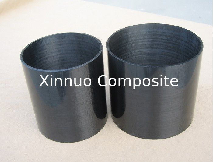 UD surface roll wrappd carbon fiber tubes tubing pipe with high strength