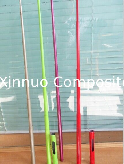 6 sections or 4 sections colorful carbon fiber telescopic pole used at cell phone can photo yourself