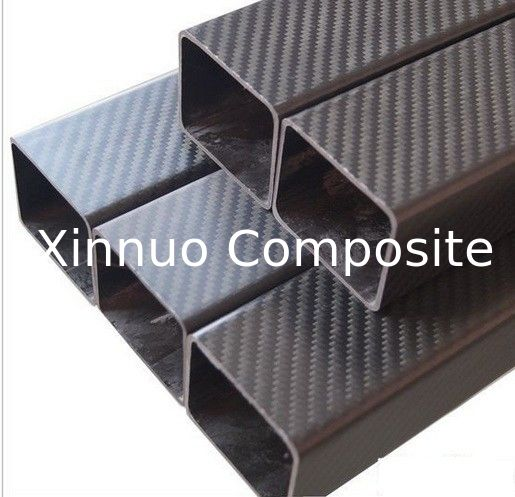 Square Rectangular   quadrate oblong-shaped shape carbon fiber tube