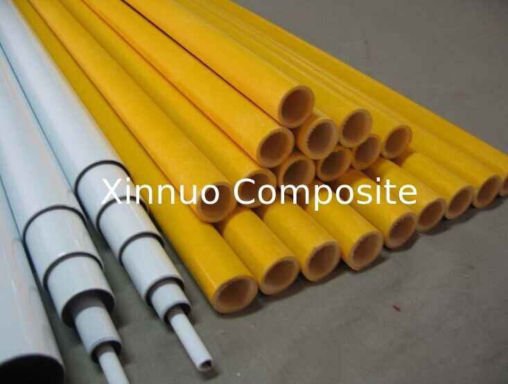 roll wrapped glass fiber tube fiberglass tube glass fiber telescopic pole