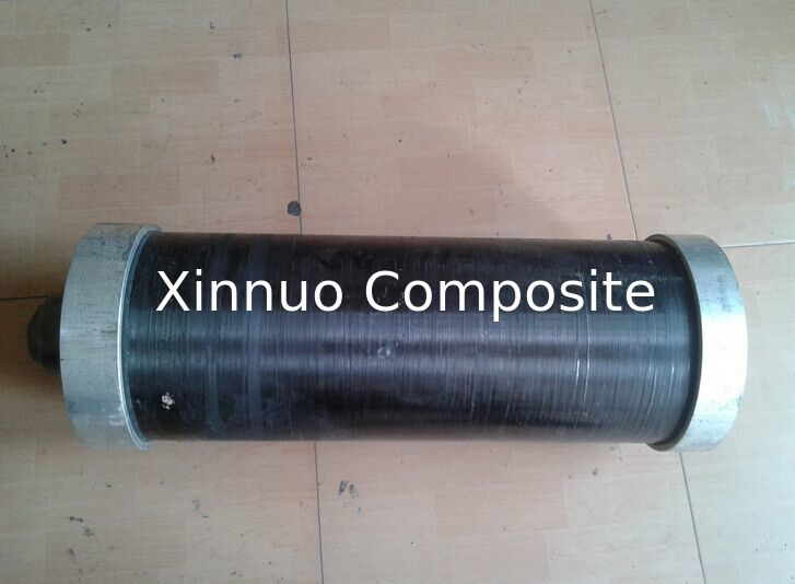 Screwed chamfered carbon fiber tube rod pole for connect aluminum/metal cap factory price