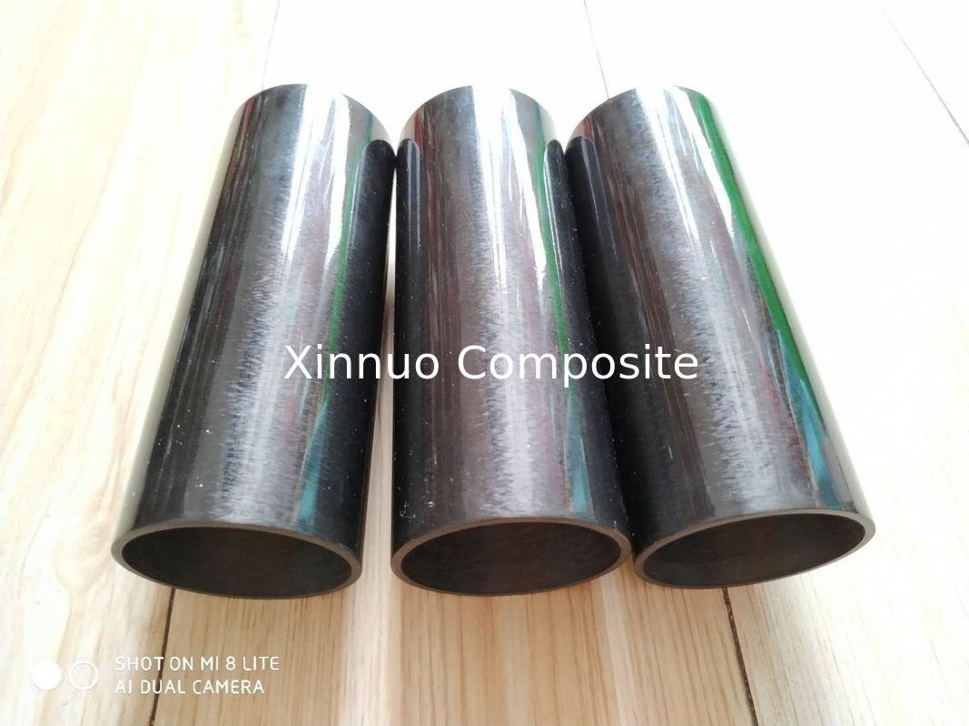 hot sell Filament wind process 56 mm OD 50.8mm ID carbon fiber tube for cylinder