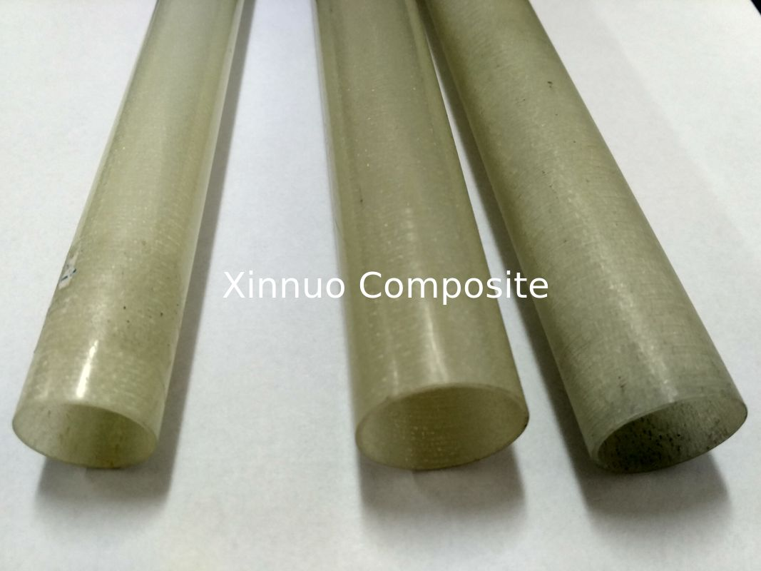 China factory directly sell insulated  fiberglass tube glass fiber pole with high stiff