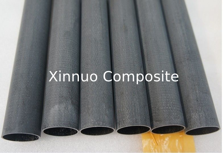 customized High strength corrosion- resistant Reinforced milled Fiberglass round tube