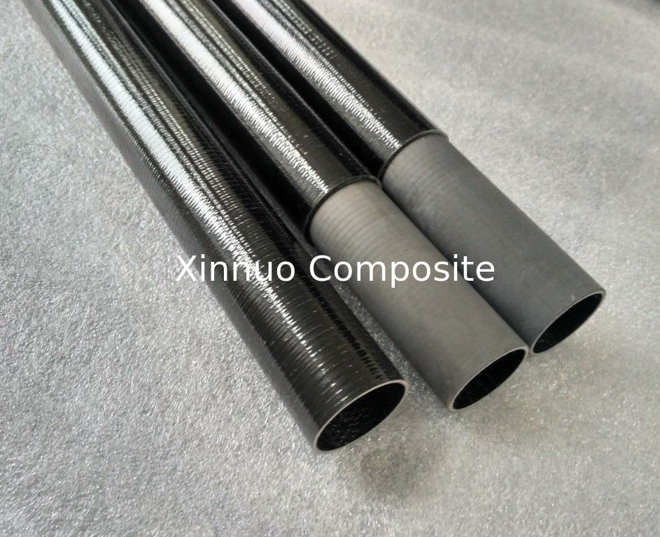customized fiberglass glass fiber tubes with inner internal tubes connect 1-3 weeks lead time
