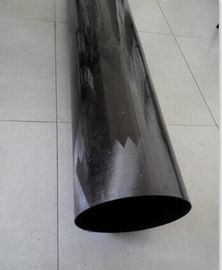 China large diameter filament winding carbon fiber tube with high strength distributor