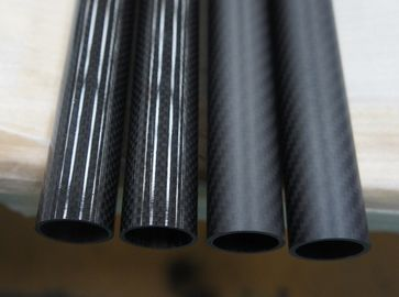 China Compare the 3K plain&twill high glossy and matte surface carbon fiber tube distributor