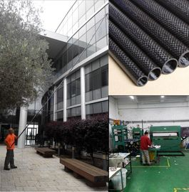 China Light weight carbon fiber  telescopic pole for window cleaning pole   and water fed pole distributor