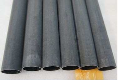 China customized High strength corrosion- resistant Reinforced milled Fiberglass round tube factory