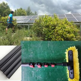 China Extend length 5.1 meter home service carbon fiber  solar panel cleaning pole distributor