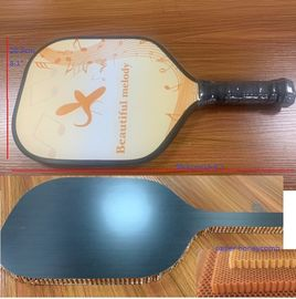 China Pickleball bat Carbon fiber face  Pick Racket with paper honeycomb core for outdoor sports distributor