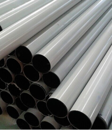 White color Glass fiber tube pole rod  FRP tube roll wrapped process
