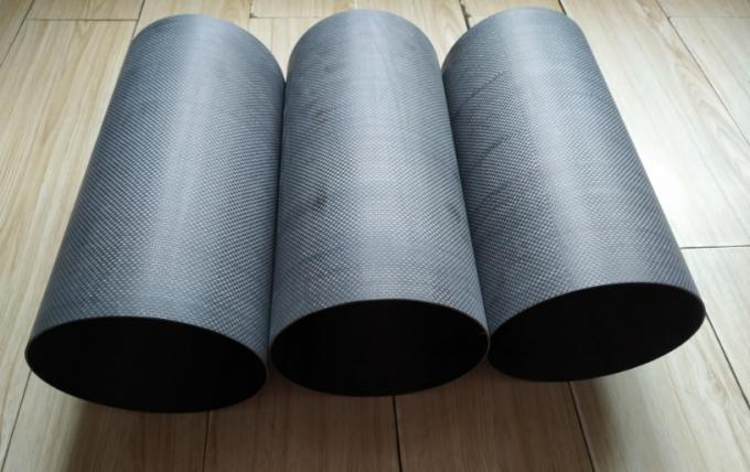 153mmOD*150mm ID*300 mm length milled  sanded carbon fibre tubes for motor light lamp tail pipes