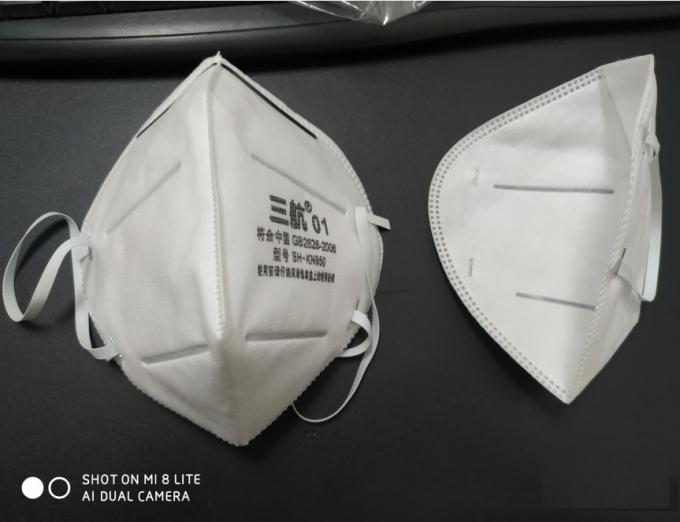 Non woven N95 face mask KN95 Folding Prevent PM2.5 Dust Protective mask in stock